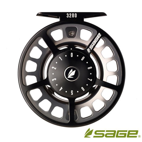 3280 Fly Reel - Black/Platinum