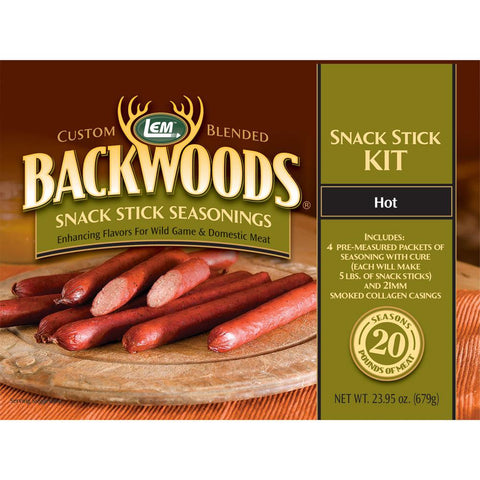 LEM Hot Snack Stick Kit - 20LBS