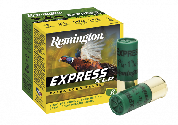 Remington Express Extra Long Range 12 Gauge 2-3/4'' 1-1/4OZ #4 1330 FPS