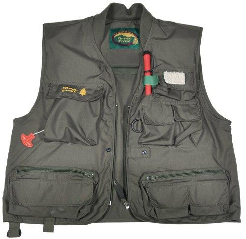 Naturmania Green Trail Survivor Inflatable Fishing Vest
