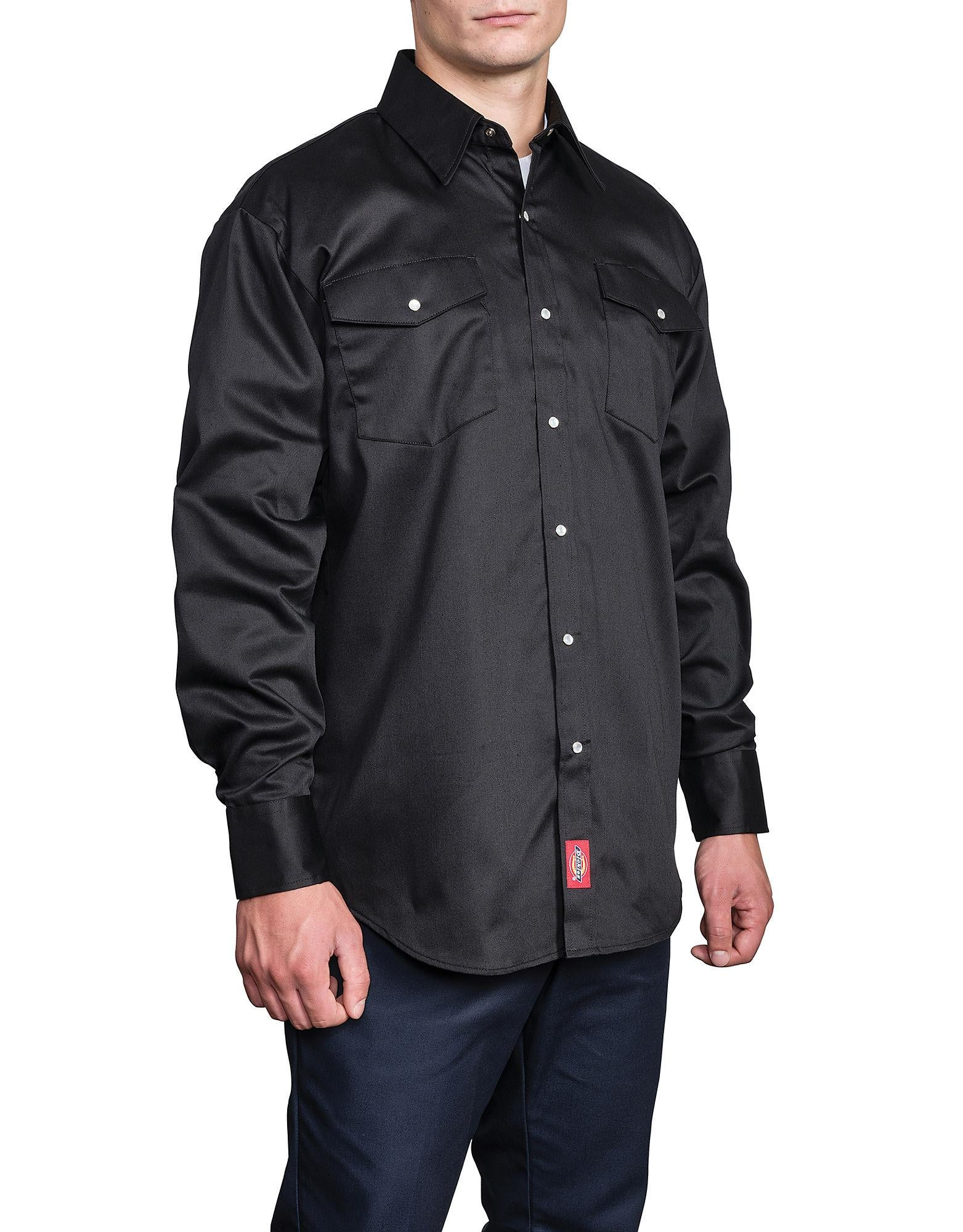 Snap Front Work Shirt