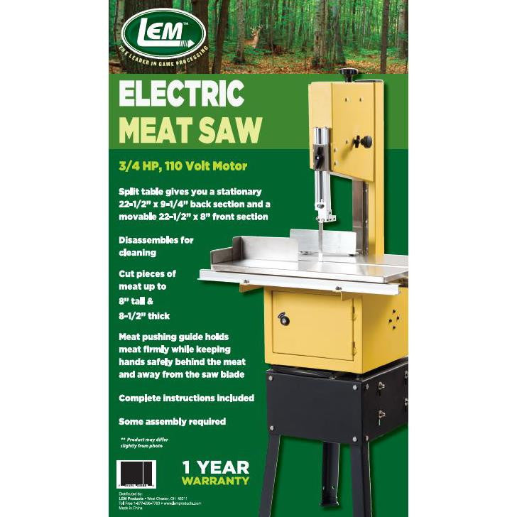 Lem electric meat saw blue ridge inc lem electric meat saw greentooth Image collections