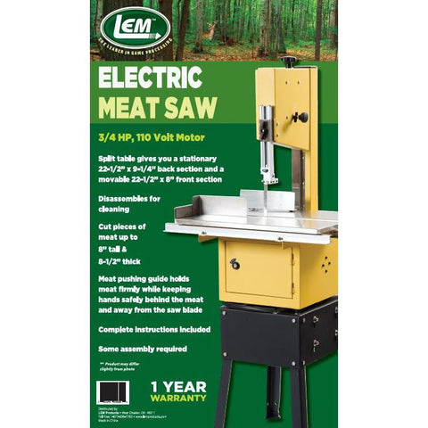 LEM Electric Meat Saw