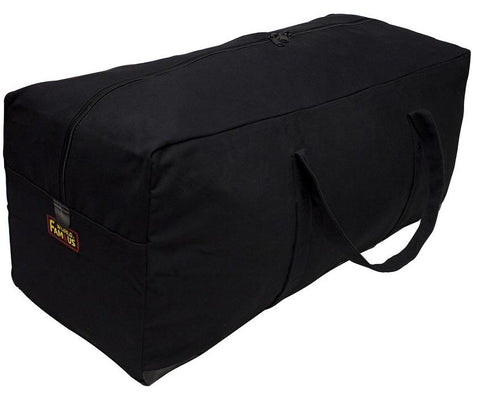 "Canvas Equipment Bag 30""- Black"