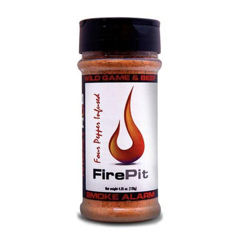 Fire Pit (Smoke Alarm) Rub- Four Pepper Infused