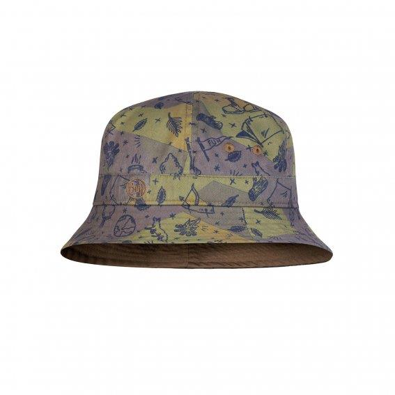 Bucket Hat Junior-Camp Khaki