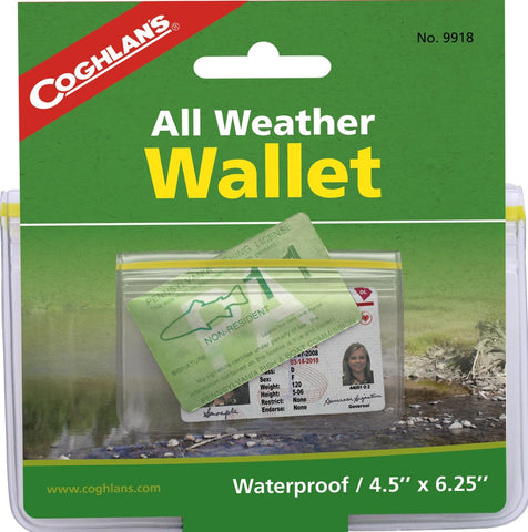 "Coghlan's Weather Wallet 4.5""x6.25"""