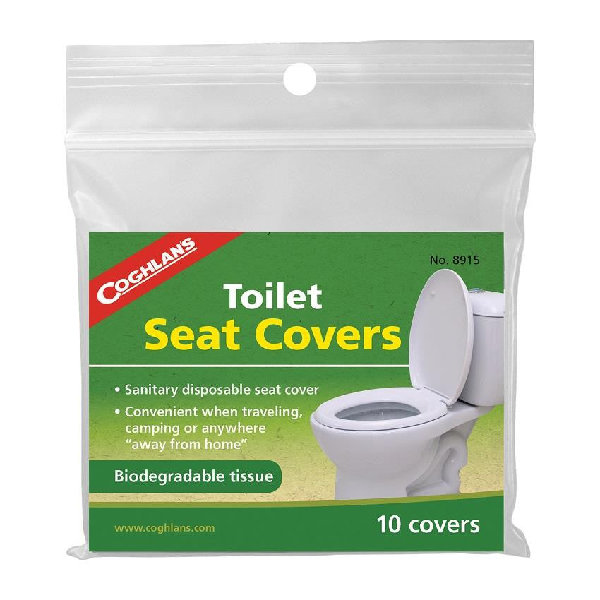 Coghlan's Toilet Seat Covers 10 Pack