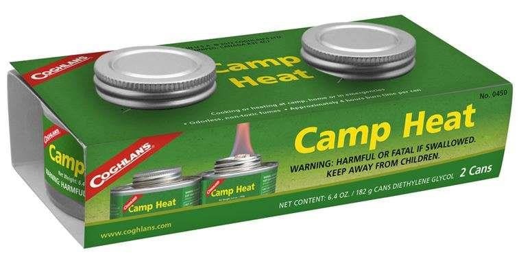 Coghlan's Camp Heat 2 Cans