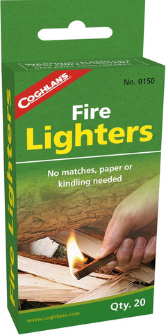 Coghlan's Fire Lighters 20 QTY