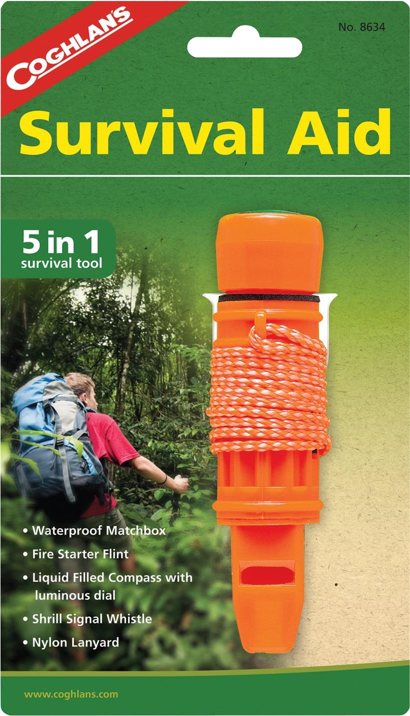Cgohlan's Survival Aid 5 in 1