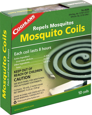 Coghlan's Mosquito Coils 10 Pk