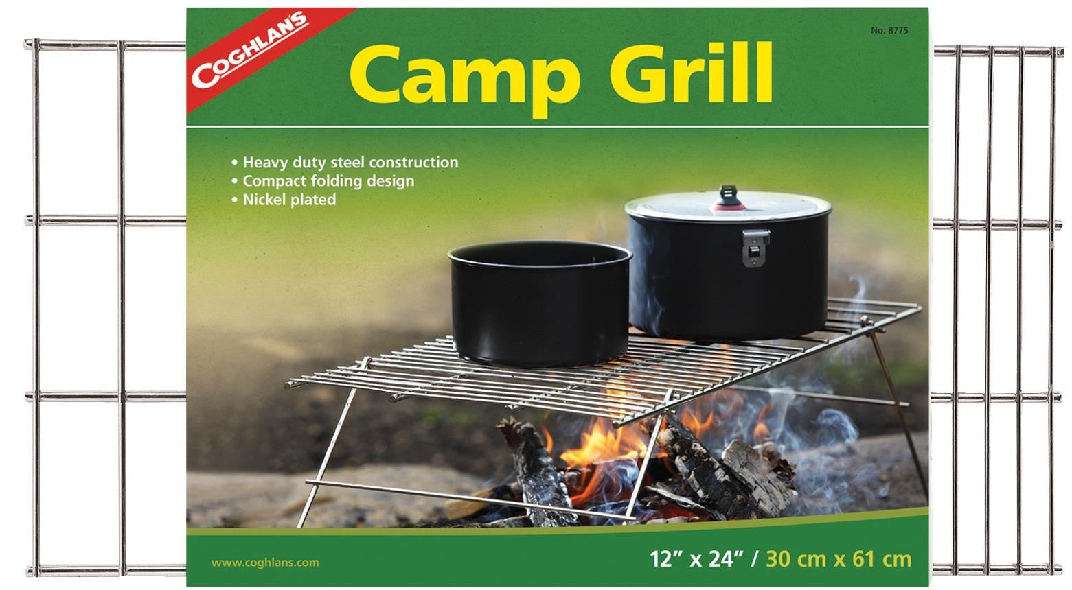 "Coghlan's Camp Grill 12""x24"""