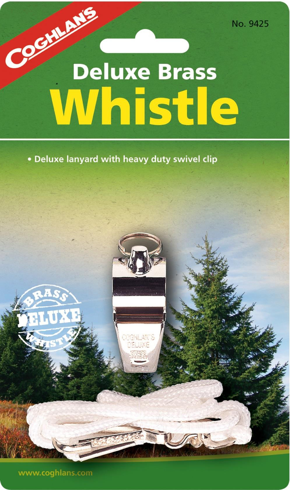 Coghlan's Deluxe Brass Whistle