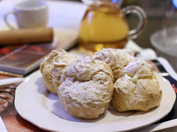 Cream puff Early grey  x4 (伯爵泡芙)