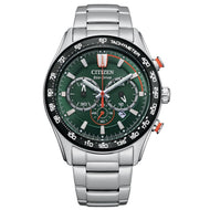 Orologio CITIZEN uomo Aviator Chronograph O.F. Collection 2021 CA4486-82X - bonini-gioielli