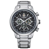 Orologio CITIZEN uomo Pilot Chronograph O.F. Collection 2021 CA4470-82E - bonini-gioielli