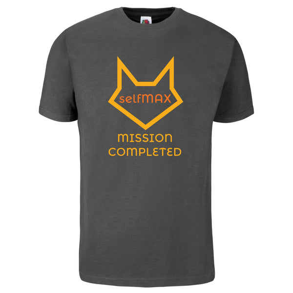 selfMAX T-Shirt MISSION COMPLETED