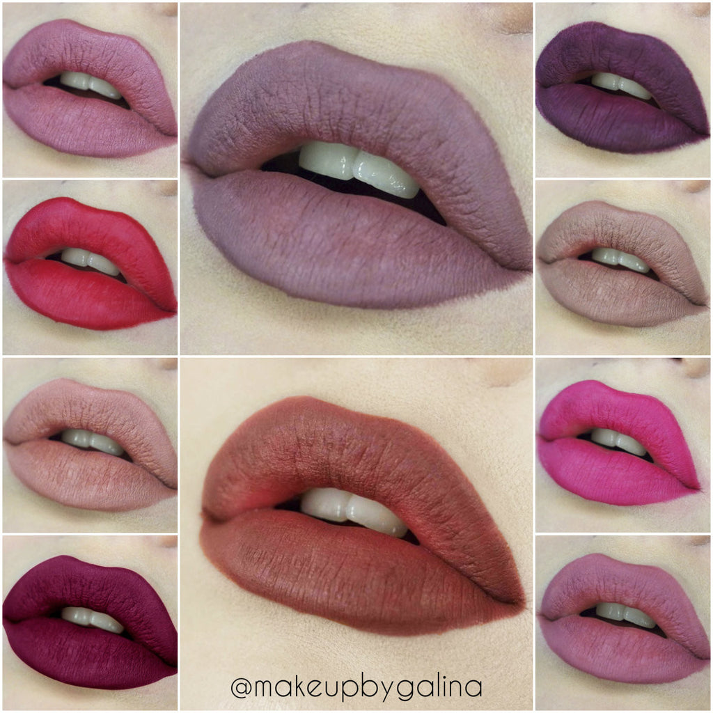 10 pcs All in Lip Liners