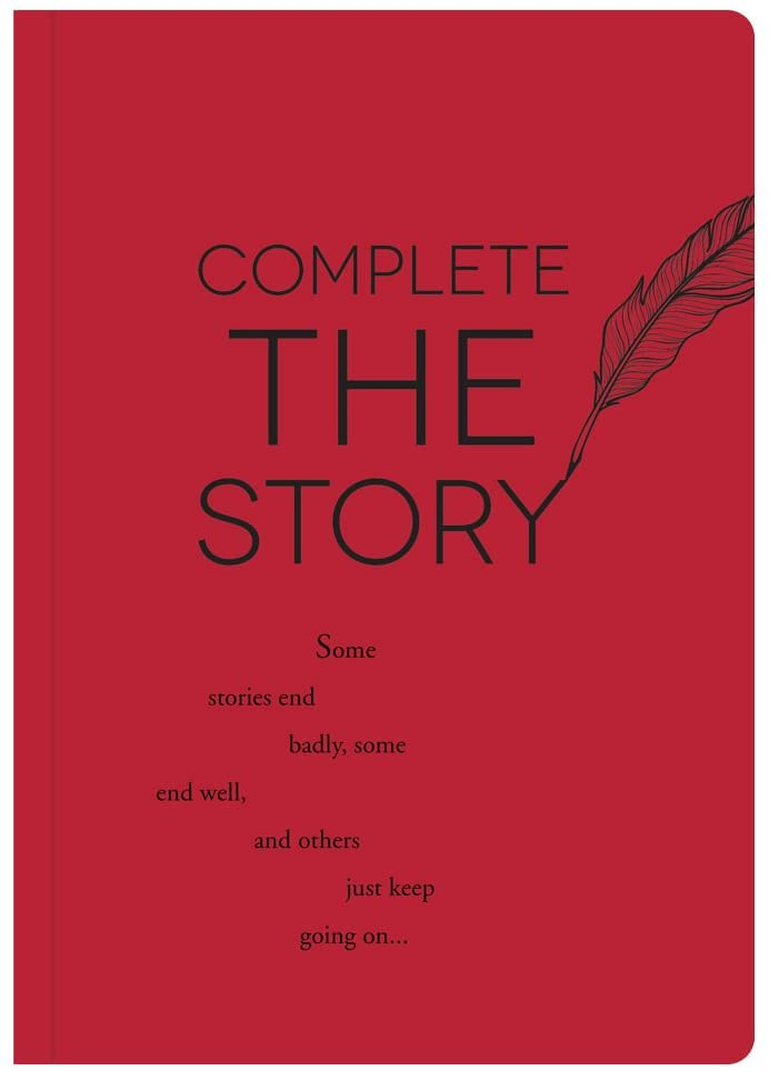 Piccadilly Complete the Story | Guided Journal | Creative Writing Notebook