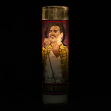 Load image into Gallery viewer, The Unemployed Philosopher's Guild Freddie Mercury Secular Saint Candle