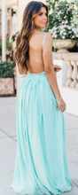 Load image into Gallery viewer, Aqua Maxi Dress
