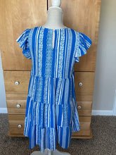 Load image into Gallery viewer, Blue Vacation Dress
