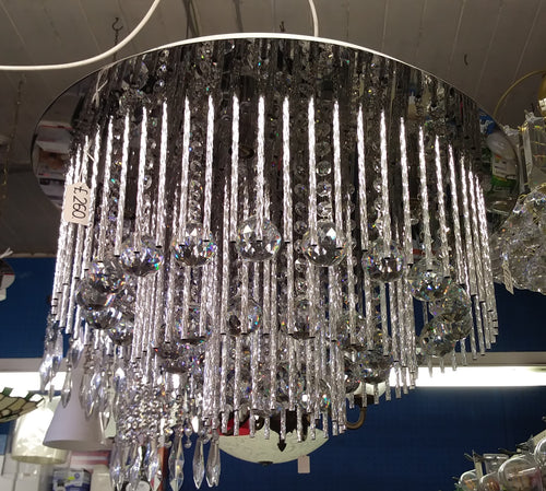 Glass Crystal Chandelier