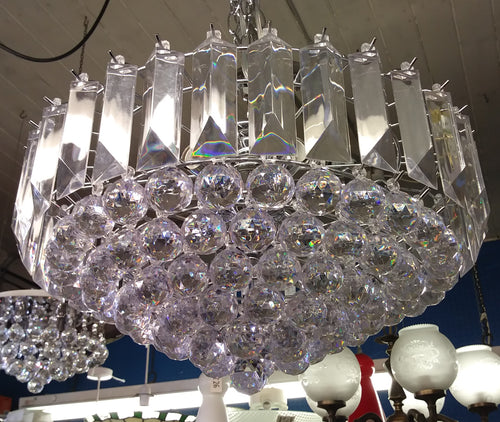 Crystal Effect Acrylic Chandelier