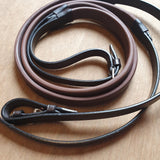 Millstream Saddlery English leather Eventa Equus Rubber reins