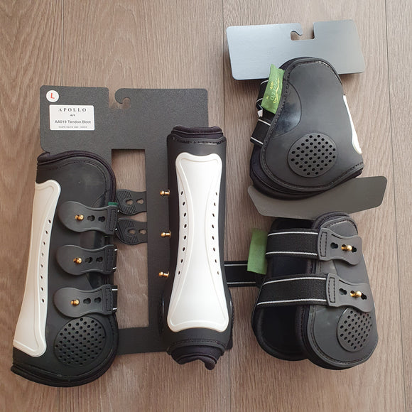 Apollo Air breath air cooled tendon and fetlock boots