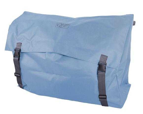 QHP Stable tidy – saddle pad bag – sky blue