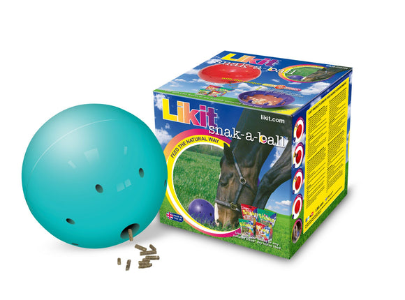 Likit Snak-A-Ball Treat Ball - Various colours