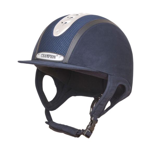 Champion Evolution Puissance Riding Hat - Navy