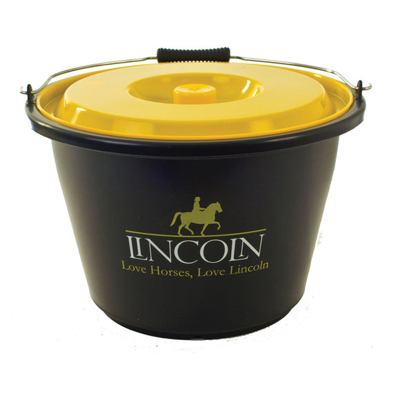 Lincoln bucket with lid