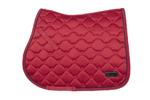 Cavallo Hanaya Saddle Pad - Salsa Red