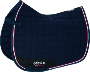 Eskadron Compact Micro-Cotton Saddle pad - Navy