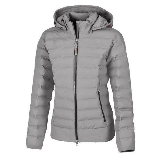Pikeur Mathea ladies quilted jacket - Grey Stone