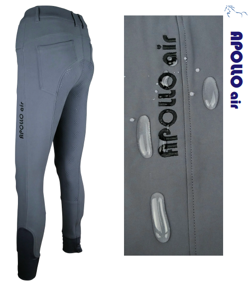 Apollo Air Storm Waterproof Breeches - Grey