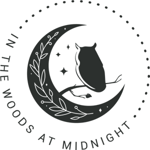 Owl logo for In the Woods at Midnight