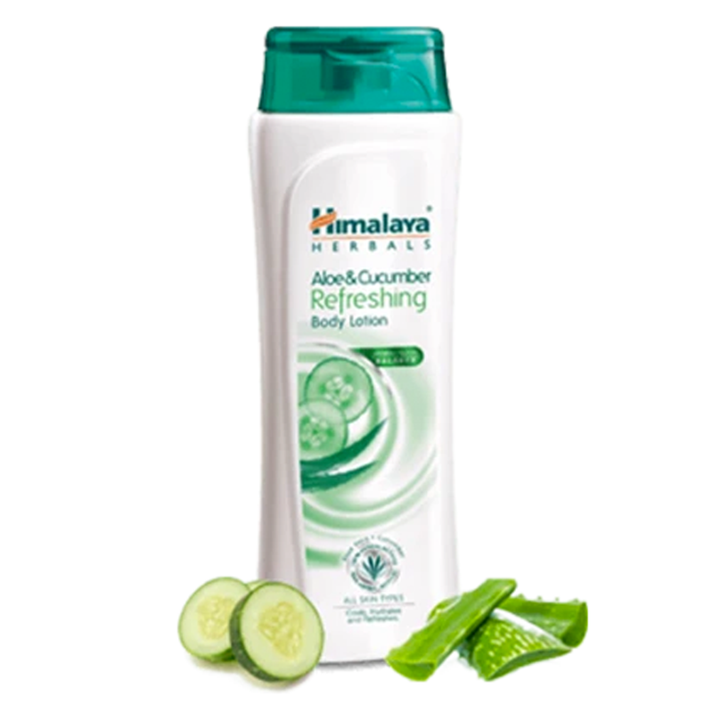 Himalaya Aloe & Cucumber Refreshing Body Lotion - Hydrates and refreshes skin