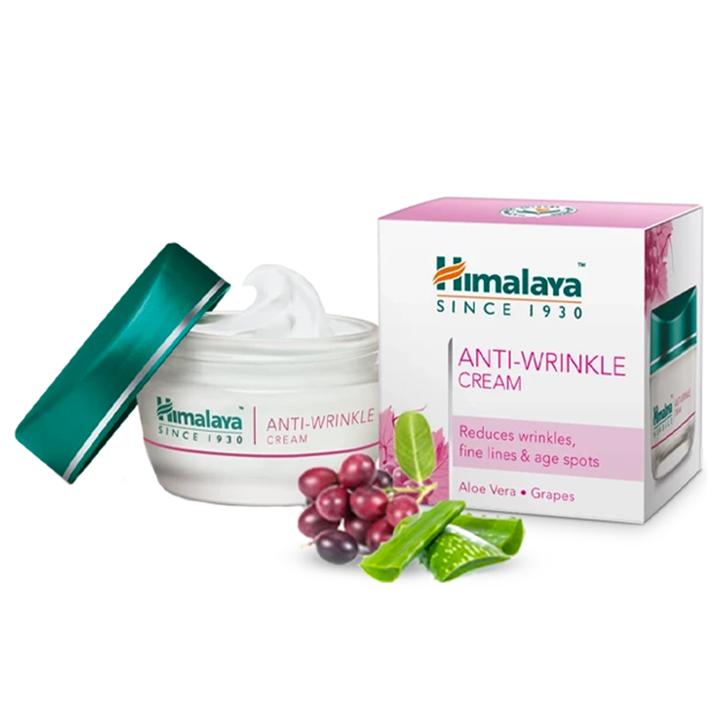 Himalaya Anti-Wrinkle Cream - Reduces Wrinkles & Fine Lines