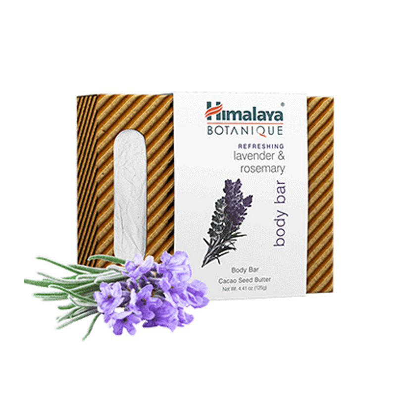 Himalaya Botanique Refreshing Lavender & Rosemary Body Bar