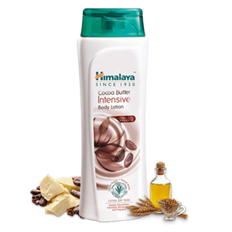 Himalaya Cocoa Butter Intensive Body Lotion - For Dry Skin