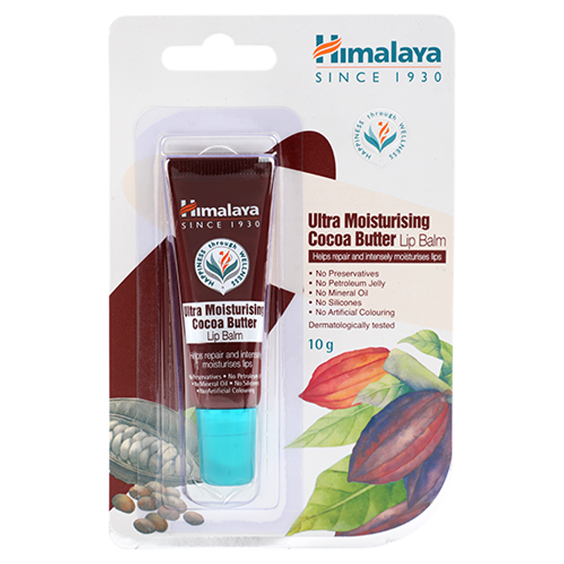 Himalaya Ultra Moisturising Cocoa Butter Lip Balm - Helps Repair Lips