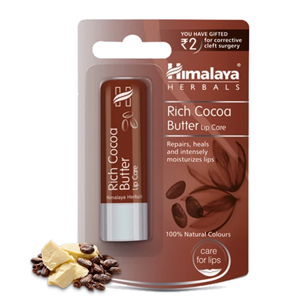 Himalaya Rich Cocoa Butter Lip Care - Intensely Moisturizes Your Lips
