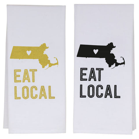 Massachusetts tea towel,,,,don't forget your roots!