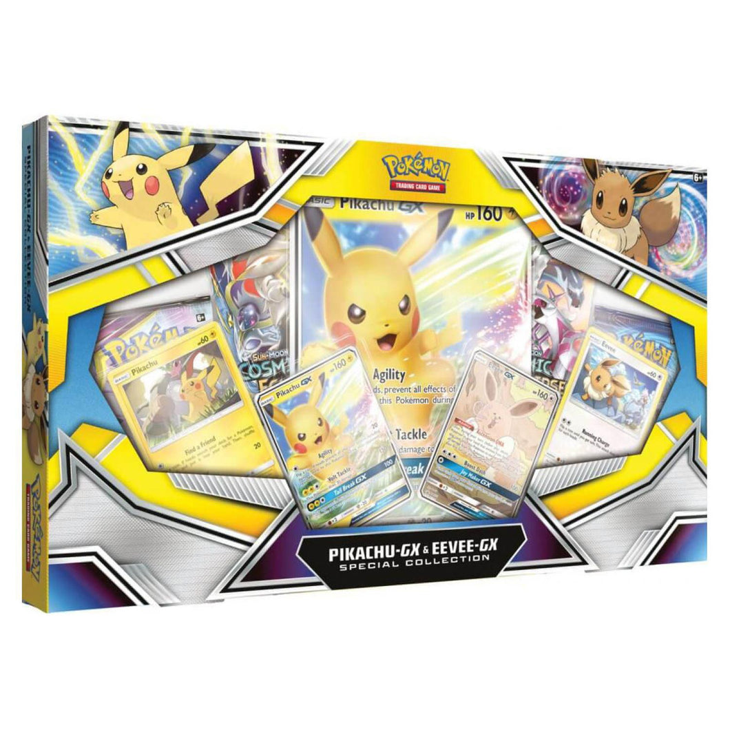 Pokemon Pikachu-Gx & Eeve-Gx Special Collection