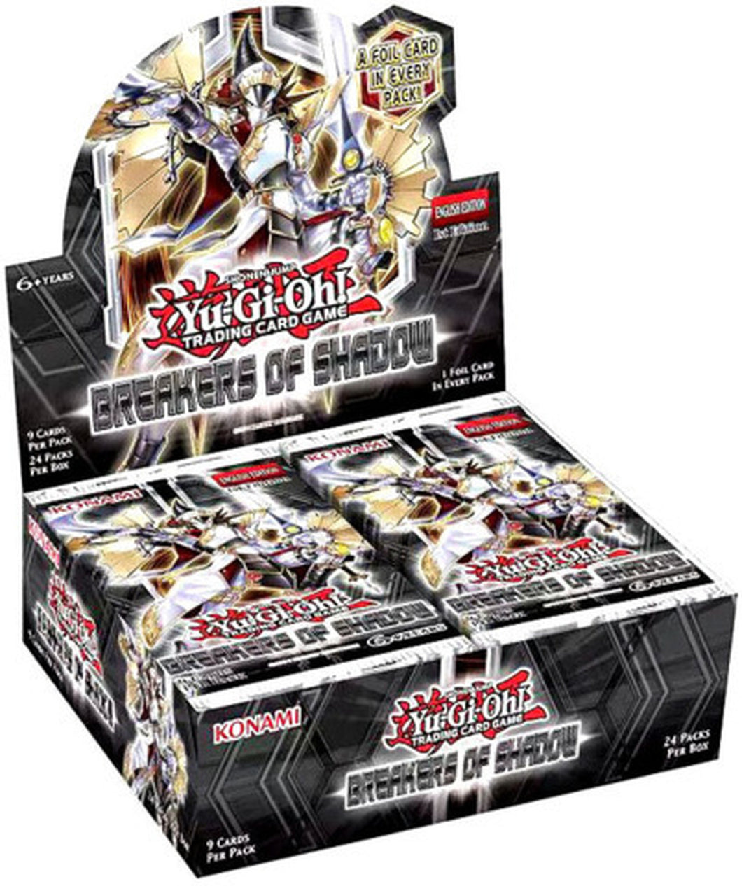 Yu-Gi-Oh Breaker of Shadow Booster Box