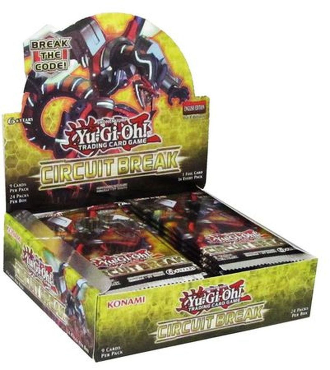 Yu-Gi-Oh Circuit Break Booster Box
